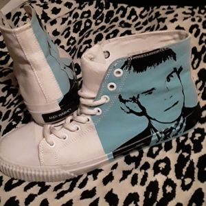 Andy Warhol high top sneakers by Calvin Klein
